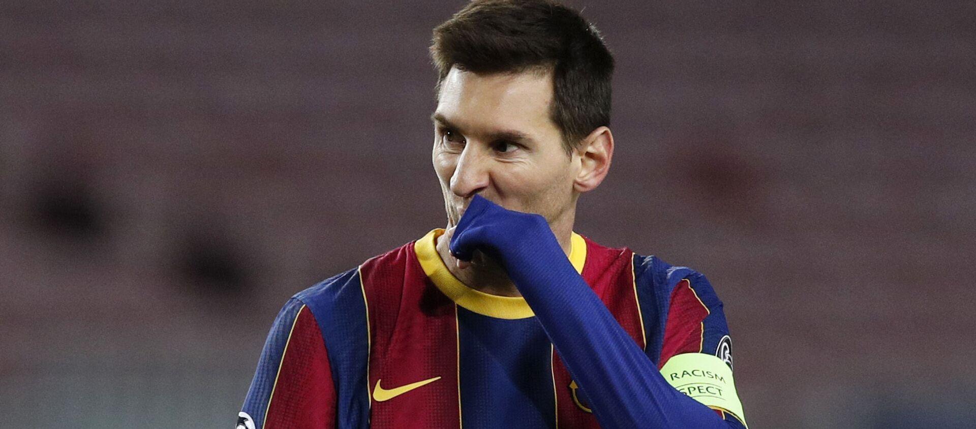 Lionel Messi, futbolista argentino - Sputnik Mundo, 1920, 27.12.2020