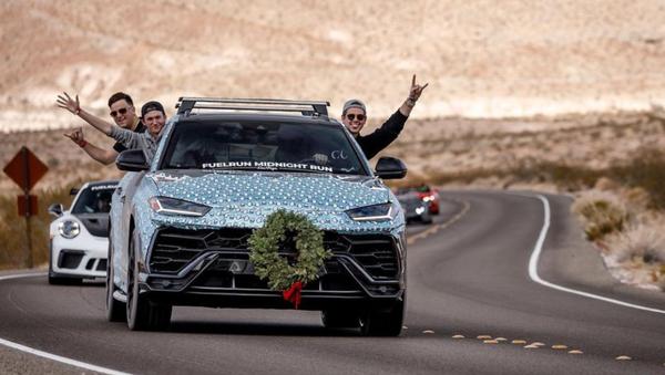 El insólito Lamborghini Urus del bloguero Harrison Woodruff - Sputnik Mundo