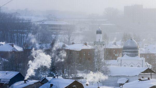 Frío en Tomsk - Sputnik Mundo
