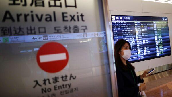 Aeropuerto en Tokio, Japón - Sputnik Mundo