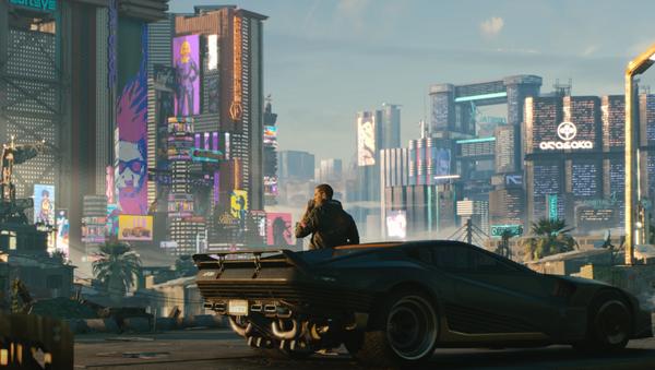 'Cyberpunk 2077', captura de pantalla - Sputnik Mundo