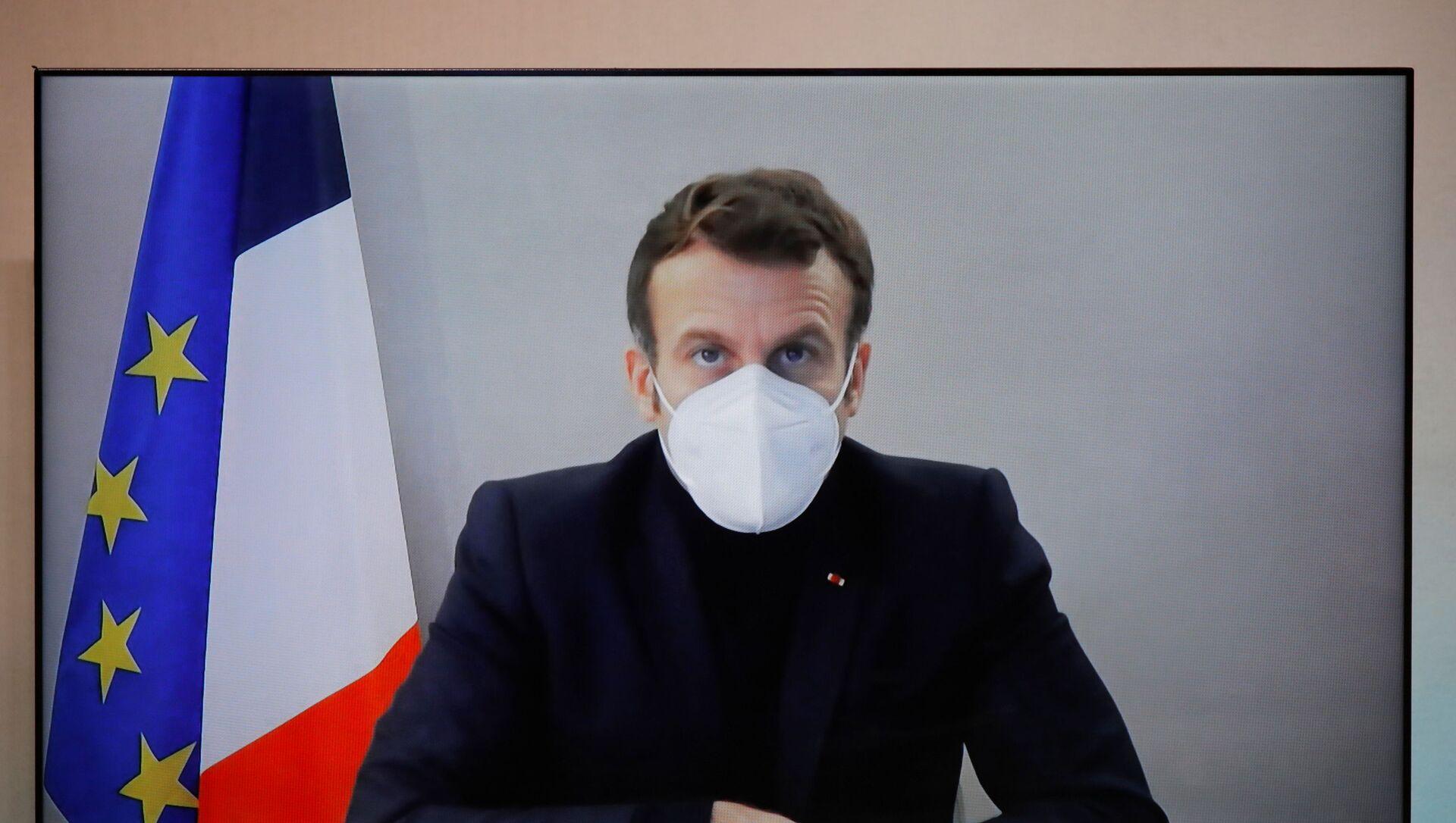 Emmanuel Macron, el presidente de Francia - Sputnik Mundo, 1920, 28.12.2020
