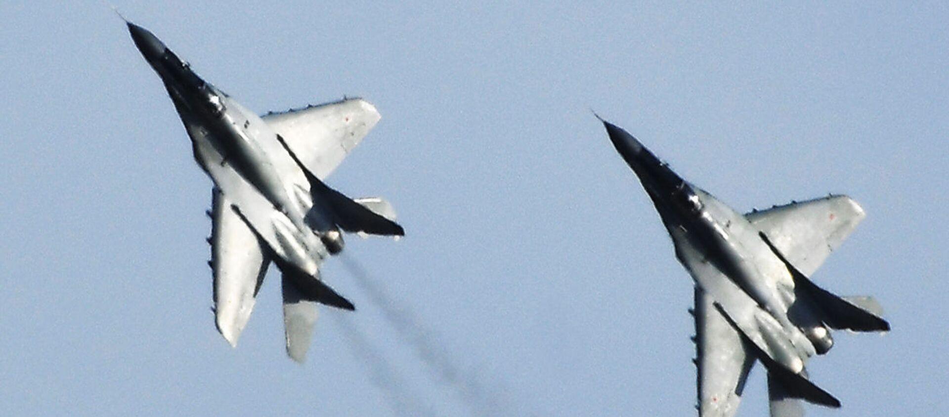 Los cazas rusos MiG-29 - Sputnik Mundo, 1920, 28.12.2020
