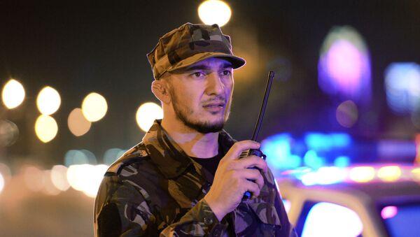 Un policía checheno (archivo) - Sputnik Mundo