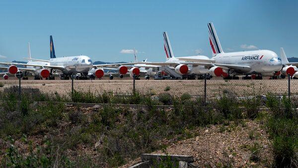 Imagen referencial del aeropuerto de Teruel - Sputnik Mundo