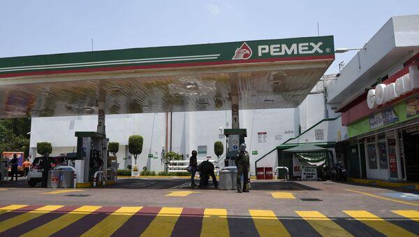 Una gasolinera de PEMEX - Sputnik Mundo