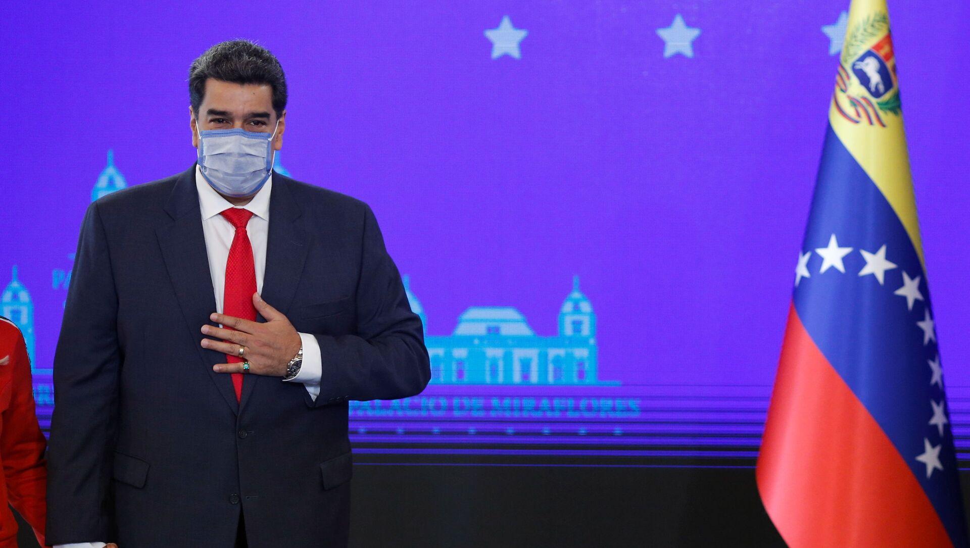 Presidente de Venezuela, Nicolás Maduro - Sputnik Mundo, 1920, 24.01.2021