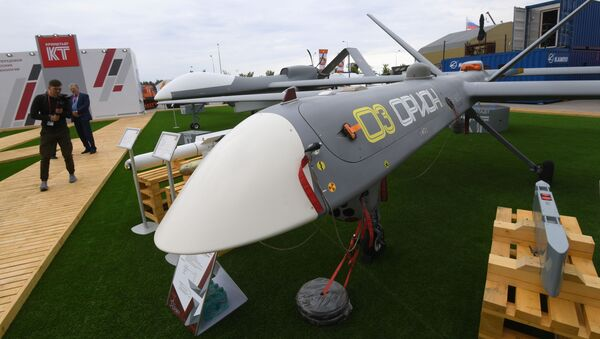 El dron ruso Orion - Sputnik Mundo