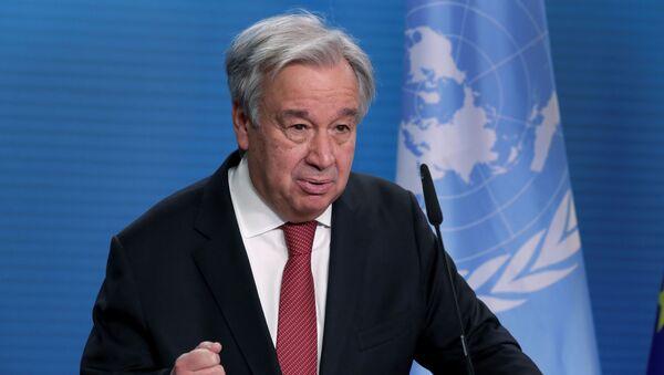 António Guterres, secretario general de la Naciones Unidas - Sputnik Mundo