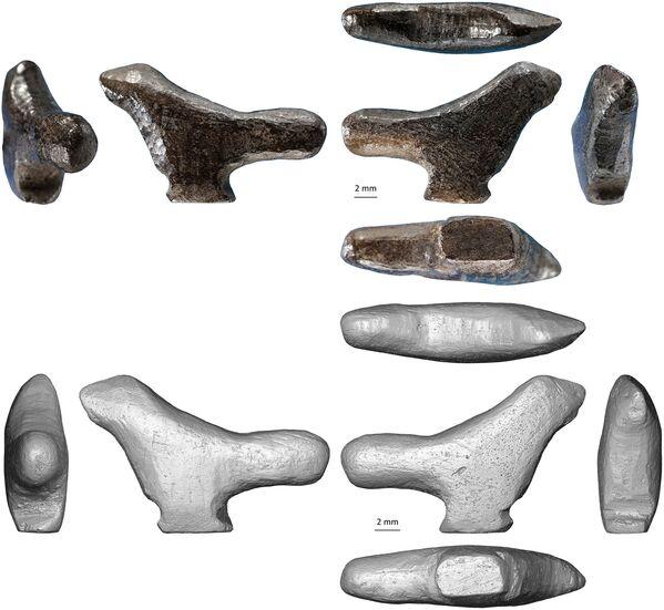 En uno de los asentamientos de los hombres primitivos en la provincia china de Henan, los arqueólogos encontraron una estatuilla de hueso de pájaro, cuya edad asciende a 13.500 años. Este hecho la convierte en la escultura más antigua de Asia Oriental conocida por la ciencia. - Sputnik Mundo