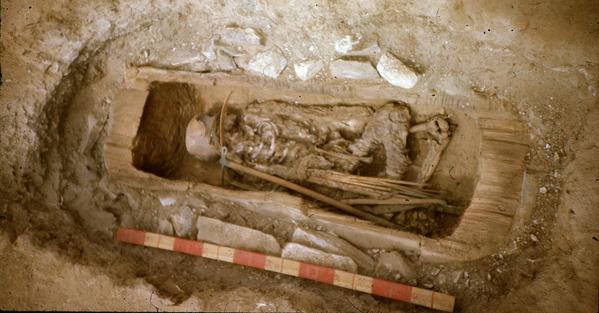El desciframiento del ADN de los restos de un guerrero de un cementerio escita en Tuvá, encontrados en 1988, reveló que en el mismo estaba enterrada una joven amazona que se educaba como guerrera. El túmulo data del siglo VII a. C., la época de apogeo de las tribus escitas. El antiguo historiador griego Heródoto escribió que entre los guerreros escitas había amazonas que luchaban a la par con los hombres. - Sputnik Mundo