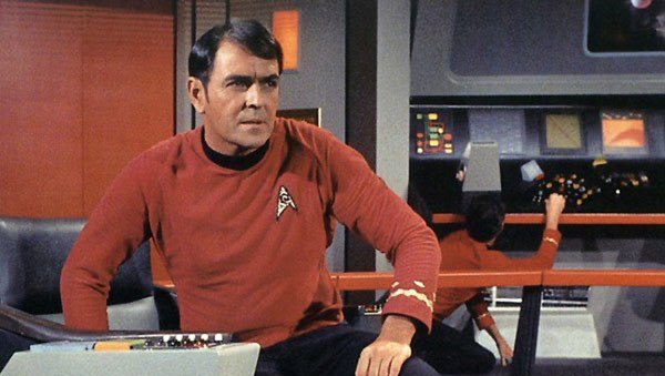 James Doohan en 'Star Trek' - Sputnik Mundo