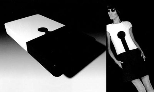 En los últimos años, el diseñador francés se apartó del mundo de la moda. En la foto: una modelo luce el atuendo Espace, diseñado por Pierre Cardin.  - Sputnik Mundo