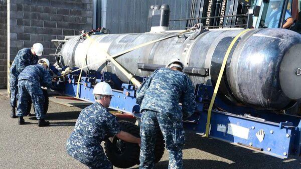 Un dron submarino The Sea Stalker  - Sputnik Mundo
