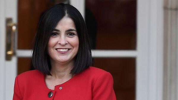 La ministra de Política Territorial de España, Carolina Darias - Sputnik Mundo