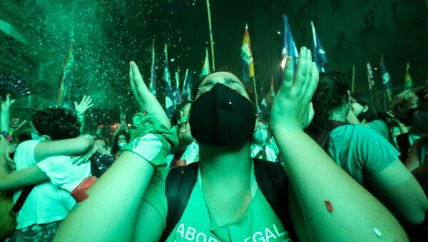Legalización del aborto en Argentina - Sputnik Mundo