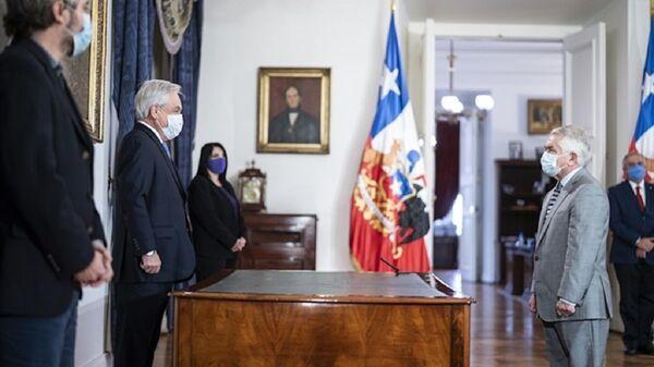 Juramentación del ministro de Salud Enrique Paris - Sputnik Mundo