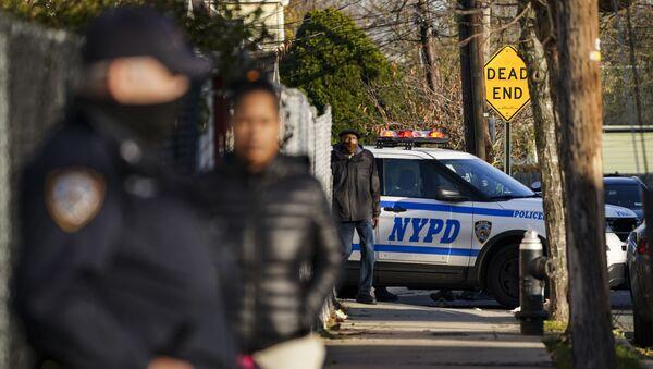 Policía de Nueva York, foto de archivo - Sputnik Mundo