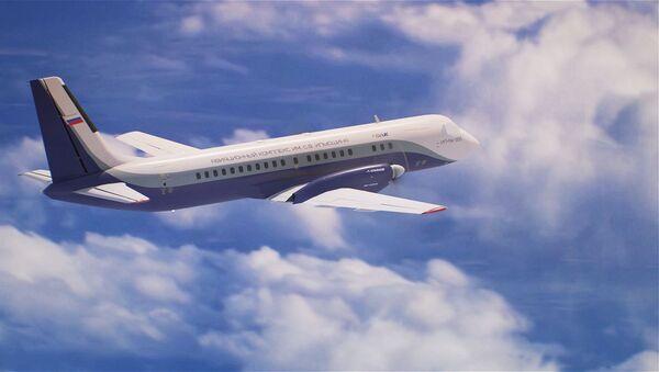 El avión regional ruso Il-114-300 al detalle - Sputnik Mundo