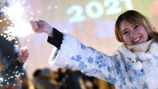 Así se celebró la llegada del año nuevo en diversos países alrededor del globo - Sputnik Mundo