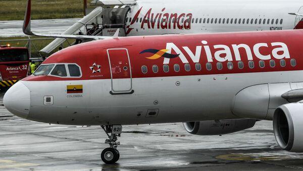 Unos aviones de Avianca en el aeropuerto El Dorado de Bogotá, Colombia (archivo) - Sputnik Mundo