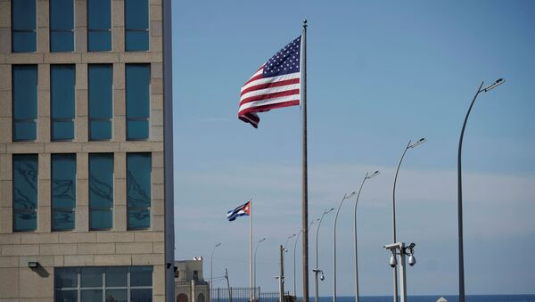 La embajada de Estados Unidos en la Habana, Cuba - Sputnik Mundo