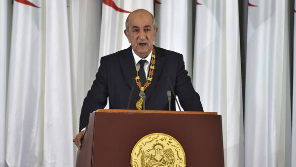 Abdelmayid Tebune, presidente de Argelia - Sputnik Mundo
