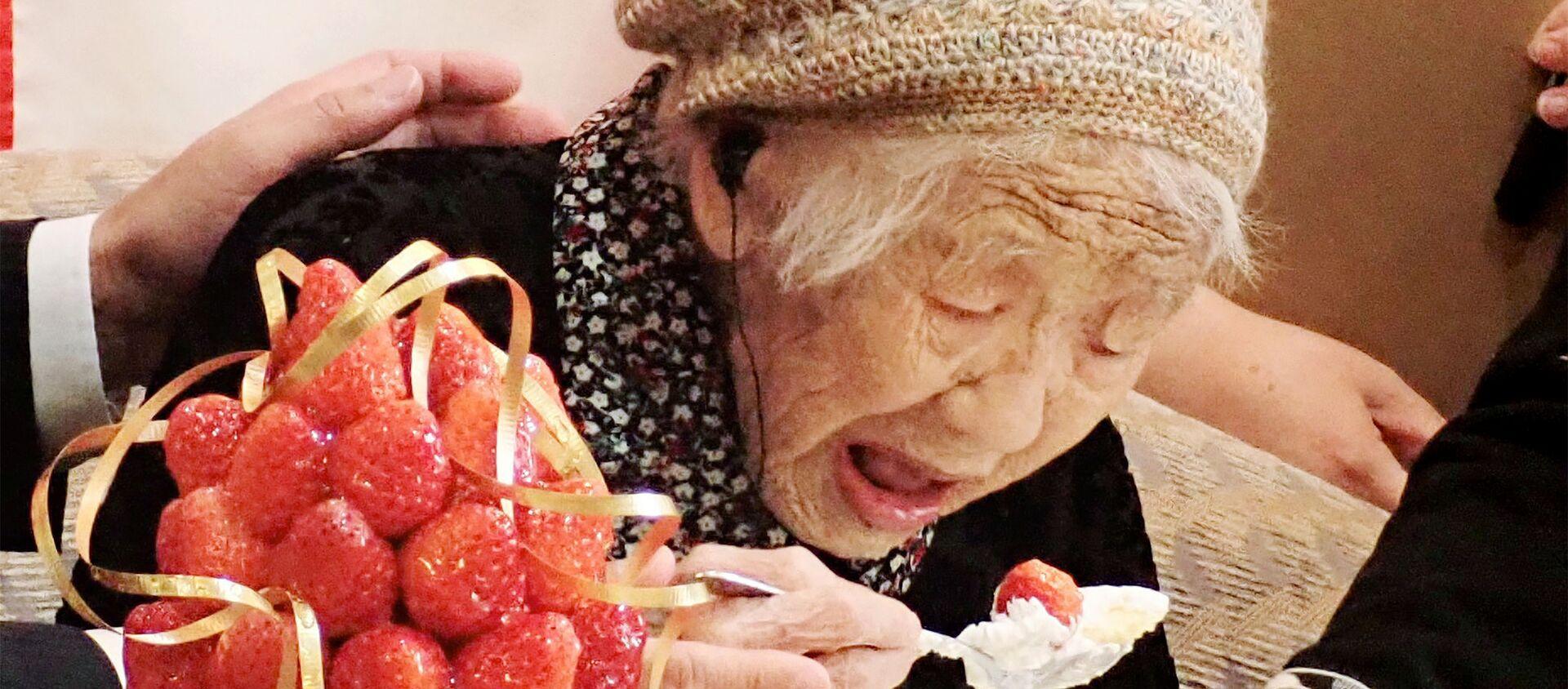 La japonesa Kane Tanaka, mujer más longeva del mundo - Sputnik Mundo, 1920, 02.01.2021