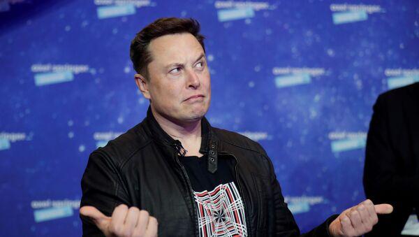 Elon Musk, director general de Tesla - Sputnik Mundo