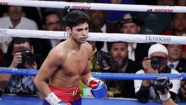 Ryan García, boxeador (archivo) - Sputnik Mundo