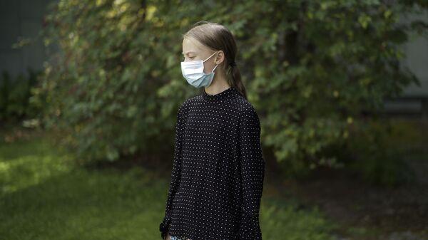 Greta Thunberg, activista ecológica  - Sputnik Mundo