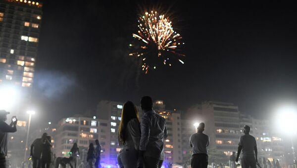 Celebración del Año Nuevo en Brasil - Sputnik Mundo