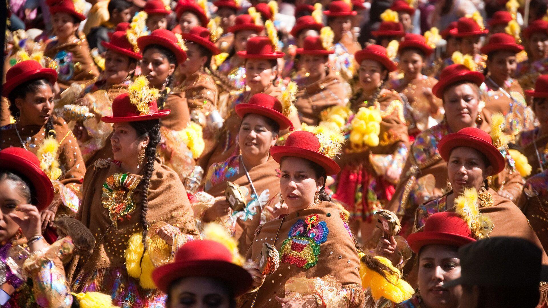 Desfile de carnaval en Oruro, Bolivia - Sputnik Mundo, 1920, 14.05.2021