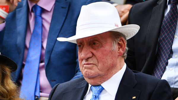Rey emérito de España Juan Carlos I de Borbón - Sputnik Mundo