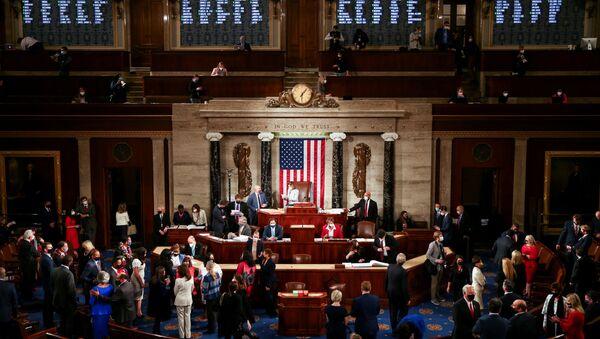 La 117 sesión del Congreso de EEUU  - Sputnik Mundo