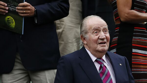 El rey emérito Juan Carlos I, en una imagen de 2017 - Sputnik Mundo
