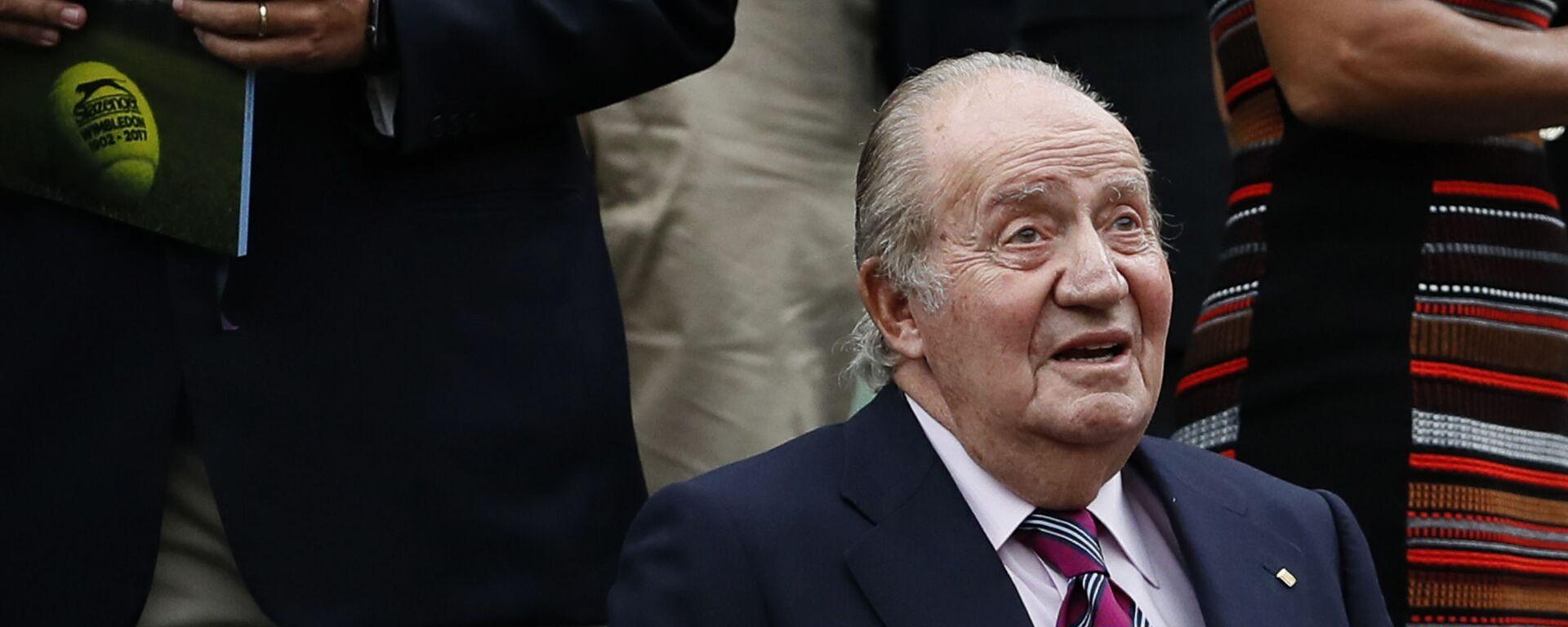 El rey emérito Juan Carlos I, en una imagen de 2017 - Sputnik Mundo, 1920, 02.03.2021