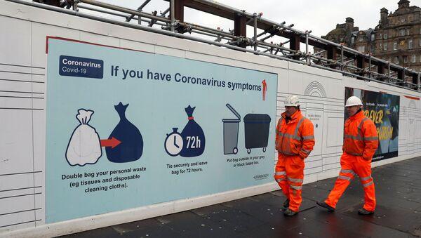 Coronavirus en Edimburgo, Escocia - Sputnik Mundo