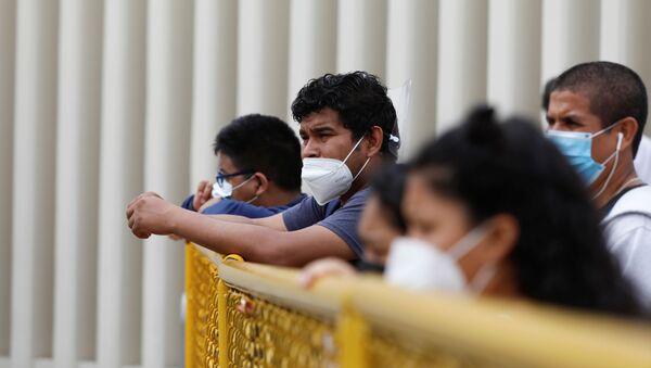 Pandemia en Perú - Sputnik Mundo