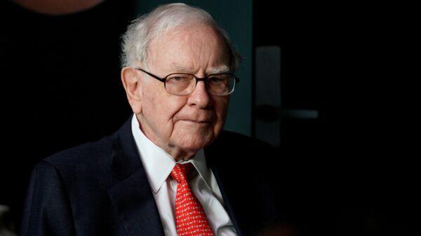 Warren Buffett, multimillonario estadounidense - Sputnik Mundo