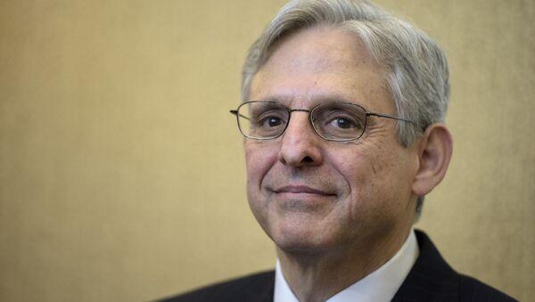 Merrick Garland,  juez de la corte de apelaciones de EEUU - Sputnik Mundo