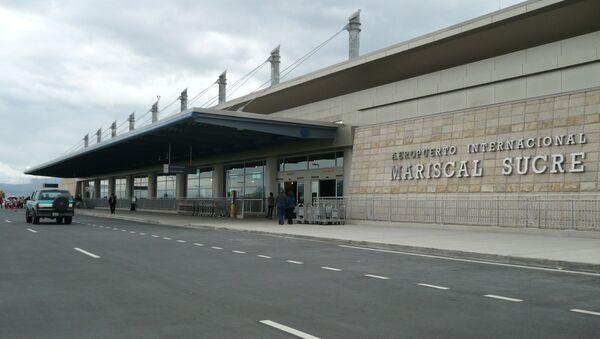 Aeropuerto internacional Mariscal Sucre de Quito - Sputnik Mundo