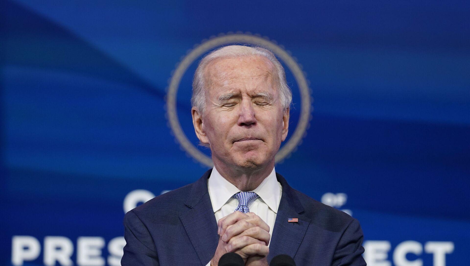 Joe Biden, presidente electo de EEUU - Sputnik Mundo, 1920, 14.01.2021