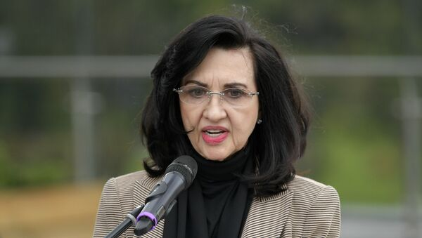 Claudia Blum, canciller de Colombia - Sputnik Mundo