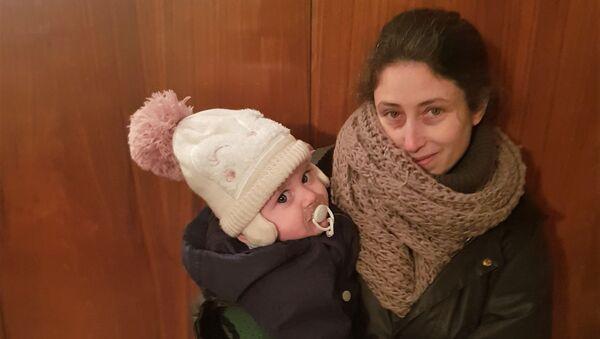 Marta Castanys, española de 42 que fue ingresada por COVID-19 en febrero de 2020 - Sputnik Mundo