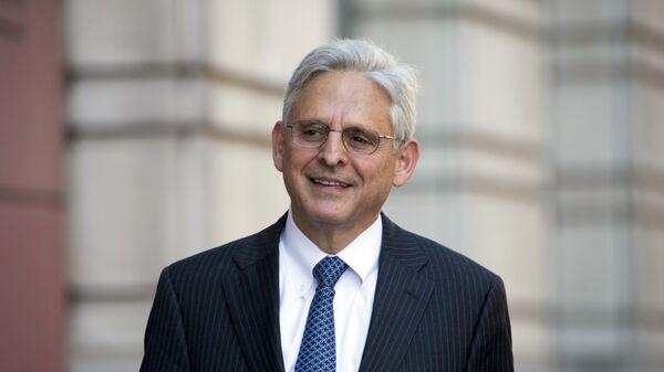 Merrick Garland, fiscal general de EEUU - Sputnik Mundo