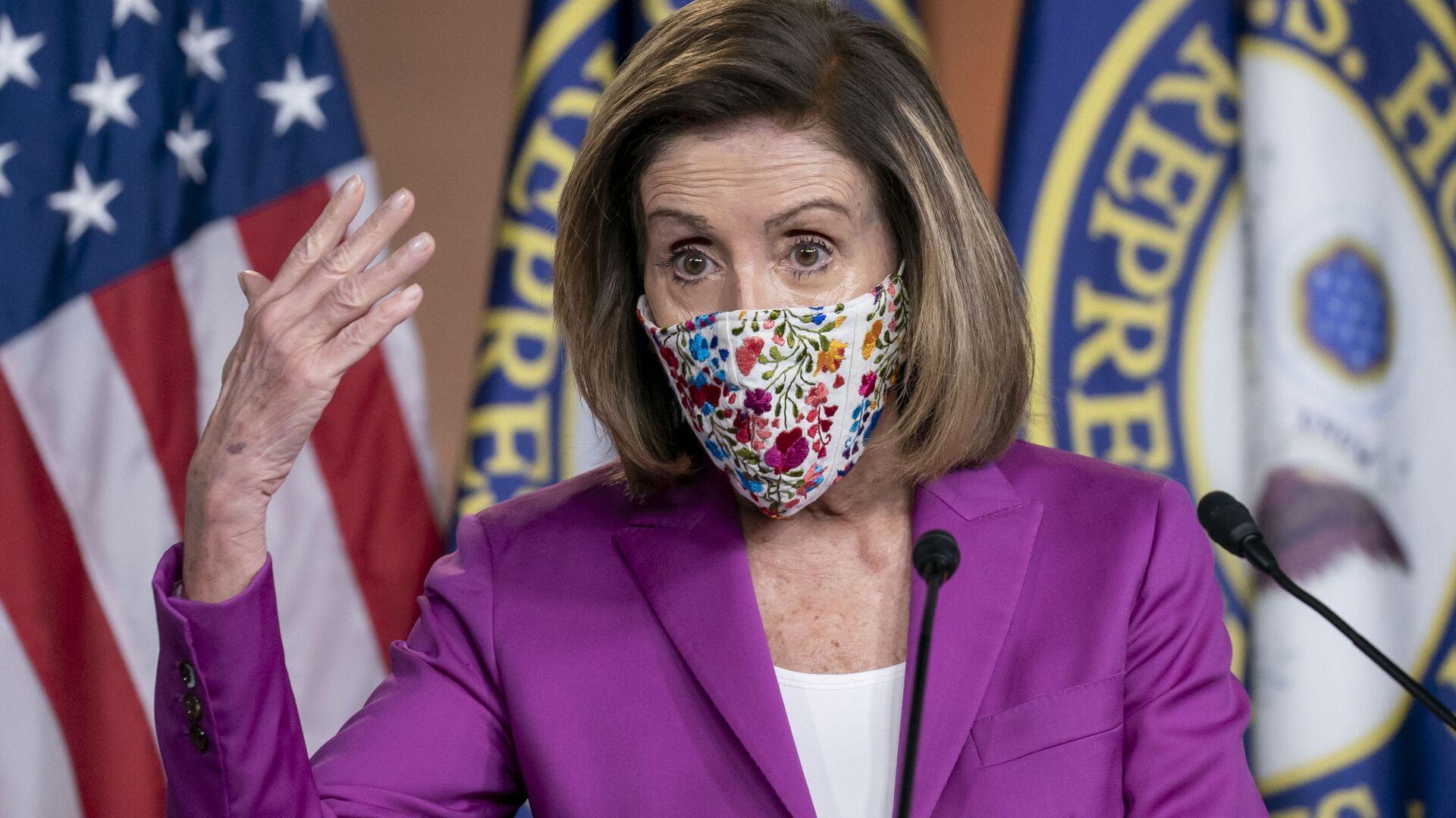 Nancy Pelosi, presidenta de la Cámara de Representantes de Estados Unidos - Sputnik Mundo, 1920, 24.06.2021