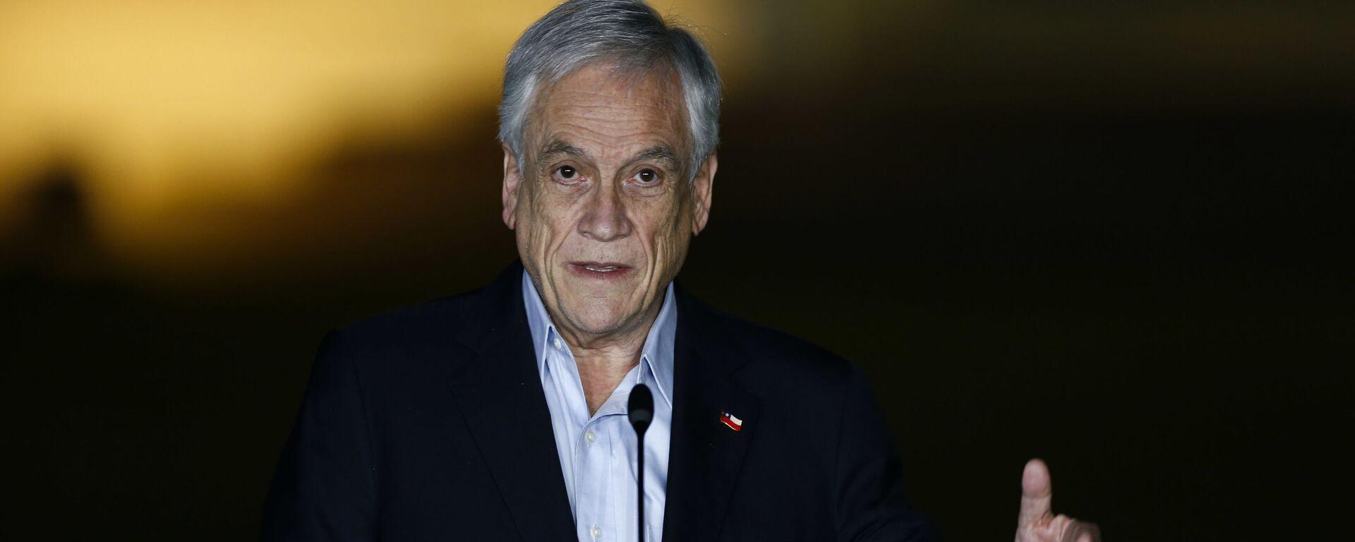 Sebastián Piñera, presidente de Chile - Sputnik Mundo, 1920, 11.06.2021