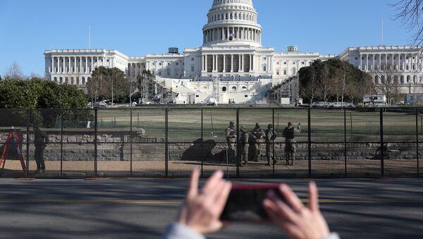 El Capitolio de Washington, EEUU - Sputnik Mundo