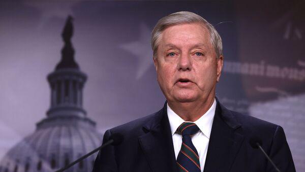 Lindsey Graham, presidente del Comité Judicial del Senado - Sputnik Mundo